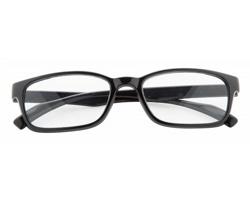Plastové brýle na čtení TIMES - černá