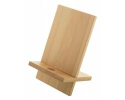 Bambusový stojánek na mobil GIBBA - přírodní