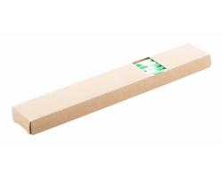 Sada papírových brček na pití STRISTRAW, 10 ks - zelená / bílá