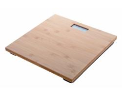 Digitální bambusová osobní váha BOOFIT - přírodní