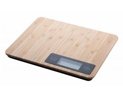 Digitální kuchyňská váha BOOCOOK s bambusovým povrchem - přírodní