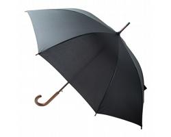 Automatický deštník LIMOGES z recyklovaného PET materiálu - černá
