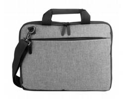 Polyesterová taška na notebook SCUBA D - šedá