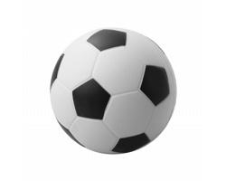 Antistresový fotbalový míč KICK - bílá / černá