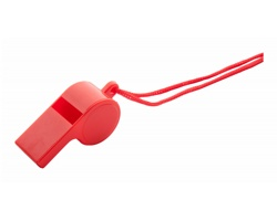 Plastová píšťalka CLAXO - červená