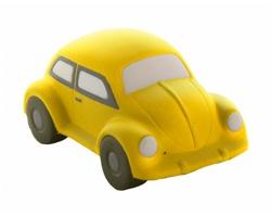 Antistresová pomůcka JIMMY ve tvaru auta - žlutá