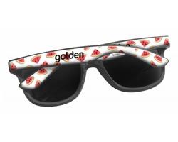 Plastové sluneční brýle DOLOX - černá