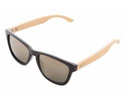 Sluneční brýle SUNBUS s bambusovými nožičkami - přírodní / černá