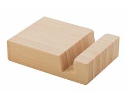 Bambusový stojánek na mobil BLOOK - přírodní