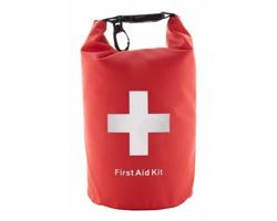 Cestovní lékárnička BAYWATCH ve vodotěsném obalu - červená