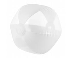 Nafukovací plážový míč NAVAGIO, průměr 26 cm - bílá