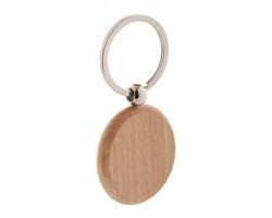 Dřevěný přívěsek na klíče ORBIS - přírodní