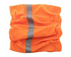 Polyesterový reflexní šátek REFLEX - oranžová