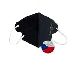 Opakovaně použitelný respirátor Breasafe® Nano - velikost M - černá