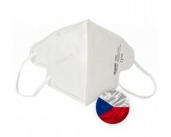 Opakovaně použitelný respirátor Breasafe® Nano - velikost L - bílá