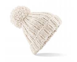 Robustní čepice Beechfield Oversized Hand-Knitted Beanie
