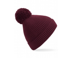 Čepice Beechfield Engineered Knit Ribbed Pom Pom Beanie