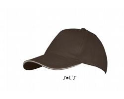 Unisexová čepice s kšiltem Sol's Long Beach