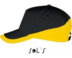 Unisexová čepice s kšiltem Sol's Booster