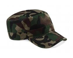 Čepice s kšiltem Beechfield Camouflage Army