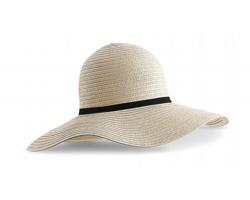 Dámský klobouk Beechfield Marbella Wide-Brimmed