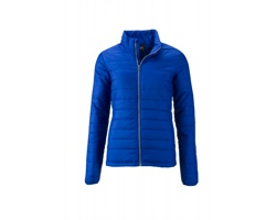 Dámská bunda James & Nicholson Ladies Padded Jacket
