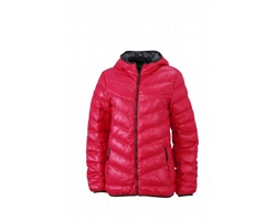 Dámská bunda James & Nicholson Ladies Down Jacket