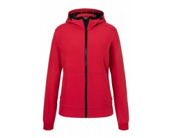 Dámská softshellová bunda James & Nicholson Hooded Softshell Jacket