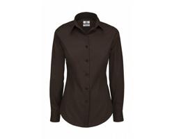 Dámská košile B&C Black Tie Long Sleeve