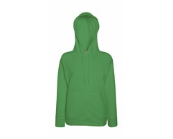Dámská mikina Fruit of the Loom Lady-Fit Lightweight Hooded Sweat