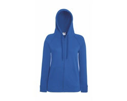 Dámská mikina Fruit of the Loom Lightweight Hooded Sweat Jacket