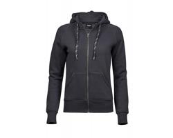 Dámská mikina s kapucí Tee Jays Ladies Fashion Full Zip Hood