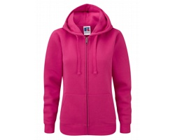 Dámská mikina Russell Ladies Authentic Zipped Hood
