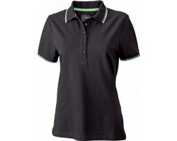 Dámská polokošile James & Nicholson Ladies Coldblack® Polo