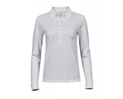 Dámská polokošile Tee Jays Ladies Luxury Stretch Long Sleeve Polo