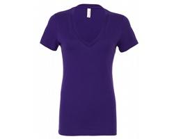 Dámské tričko Bella & Canvas Deep V-Neck Jersey
