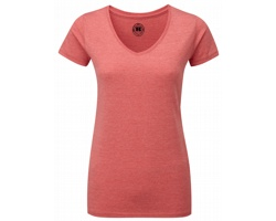 Dámské tričko Russell Ladies V Neck HD T-Shirt