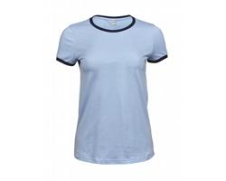 Dámské tričko Tee Jays Ladies Ringer Tee