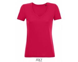 Dámské tričko Sol´s Flowy V-Neck Motion