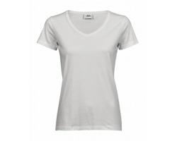 Dámské tričko Tee Jays Luxury V-Neck Tee