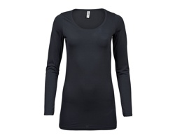 Dámské tričko Tee Jays Ladies Fashion Stretch Long Sleeve Extra Lenght