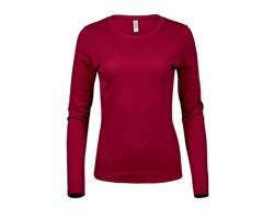 Dámské tričko Tee Jays Ladies Long Sleeve Interlock Tee