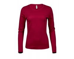 Dámské tričko Tee Jays Long Sleeve Interlock Tee