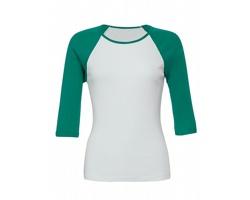 Dámské tričko Bella Contrast Raglan