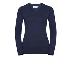 Dámský svetr Russell V-Neck Knitted Pullover