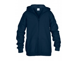 Dětská mikina Gildan Heavy Blend Youth Full Zip Hooded Sweatshirt
