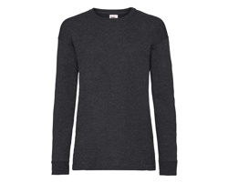 Dětské tričko Fruit of the Loom Valueweight Long Sleeve T