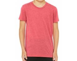 Dětské tričko Canvas Youth Triblend Jersey Short Sleeve