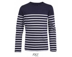 Dětské tričko Sol´s LS Striped Matelot