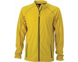 Pánská fleecová bunda James & Nicholson Mens Structure Fleece Jacket